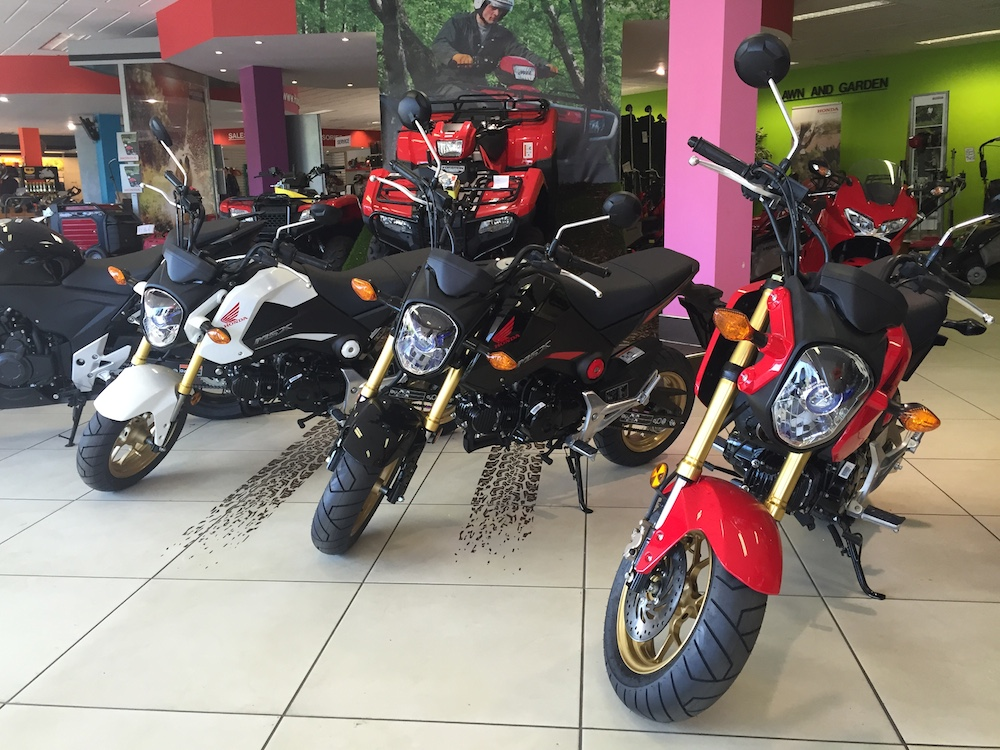Honda Showroom MSX125