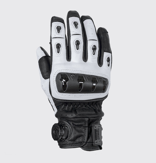 2018 Knox Orsa White Leather Glove