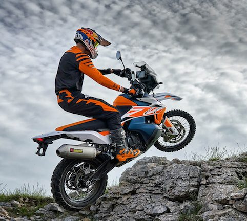 KTM 790 Adventure R - Action Shot